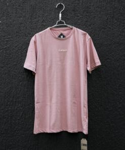 Camiseta básica rosada