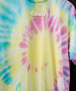 camiseta Happy tie dye